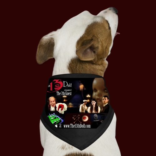The 13th Doll Cast and Puzzles - Dog Bandana