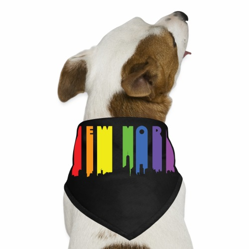 New York design Rainbow - Dog Bandana