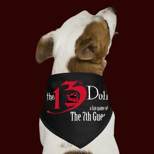 The 13th Doll Logo - Dog Bandana