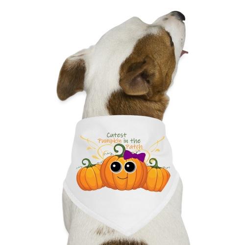 cutest pumpkin - Dog Bandana
