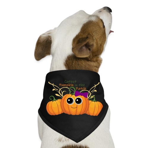 cutest pumpkin - Dog Bandana
