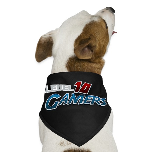 Level10Gamers Logo - Dog Bandana
