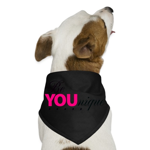 Be Unique Be You Just Be You - Dog Bandana