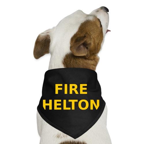 Fire Helton Shirt - Dog Bandana