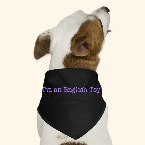 English toy bandana - Dog Bandana