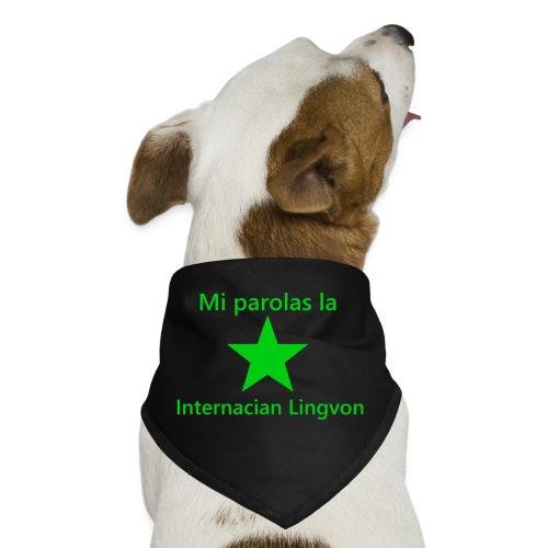 I speak the international language - Dog Bandana