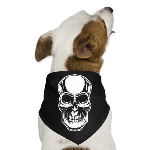 Skull Vintage Tattoo - Dog Bandana