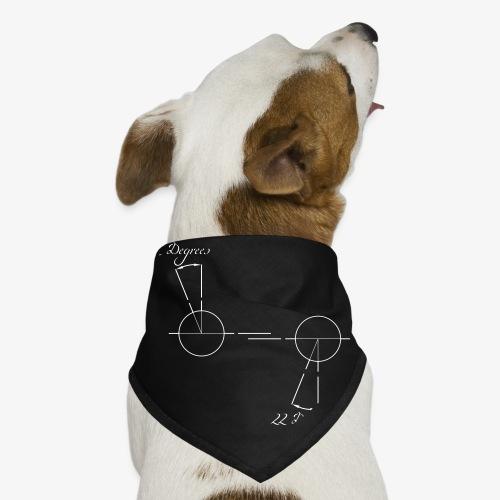 22 degrees of CX500 - no model shown - Dog Bandana