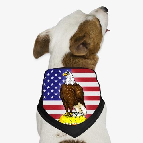Patriotic Bald Eagle Dumps on Trump - Dog Bandana
