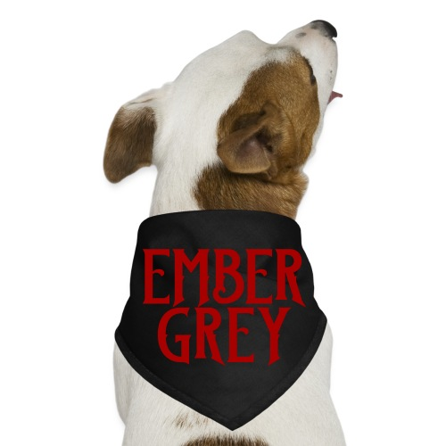 Ember Grey Name Plate - Dog Bandana