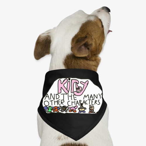 Kirby and the many other characters - Dog Bandana