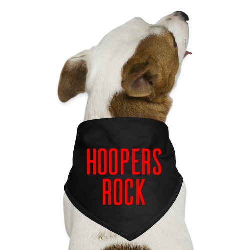 Hoopers Rock - Red - Dog Bandana