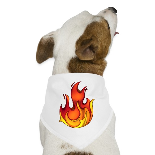 Scorchy White Logo - Dog Bandana