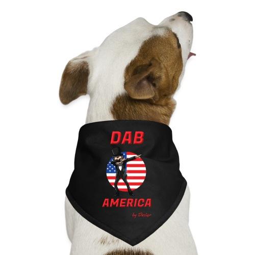 DAB AMERICA RED - Dog Bandana