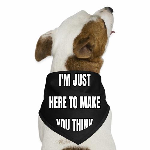 IJHTMYT (White Font) - Dog Bandana