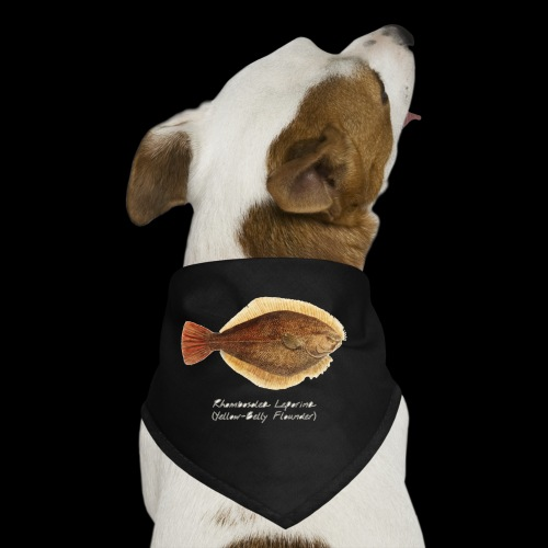 Yellow belly flounder - Dog Bandana