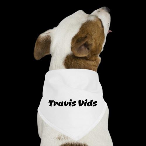 White shirt - Dog Bandana