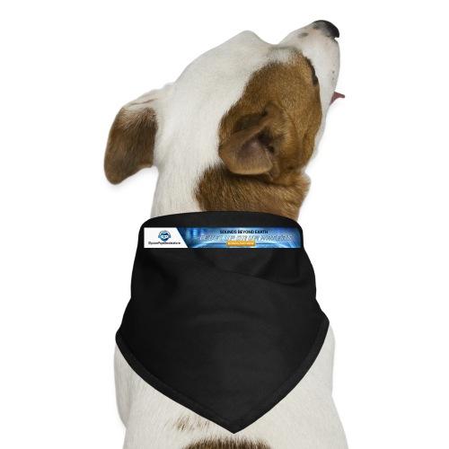 SpaceAgeBeats Banner logo - Dog Bandana