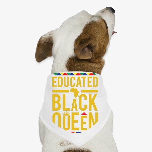 Educated Black Queen - Dog Bandana