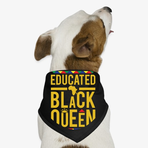 Educated Black Queen - Dog Bandana