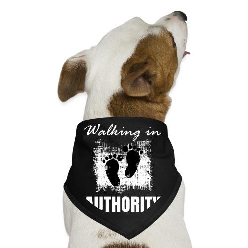 Walking in authority - Dog Bandana