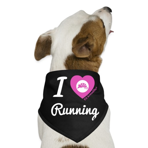 I love running - Dog Bandana