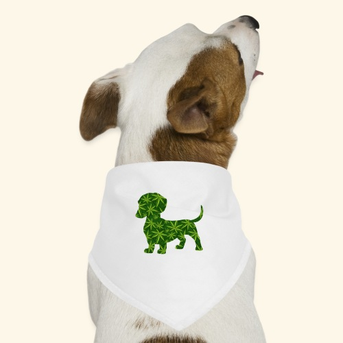 PUFFY DOG - PRESENT FOR SMOKING DOGLOVER - Dog Bandana