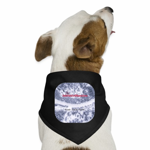 "InovativObsesion ""FIND YOUR PATH"" apparel - Dog Bandana"