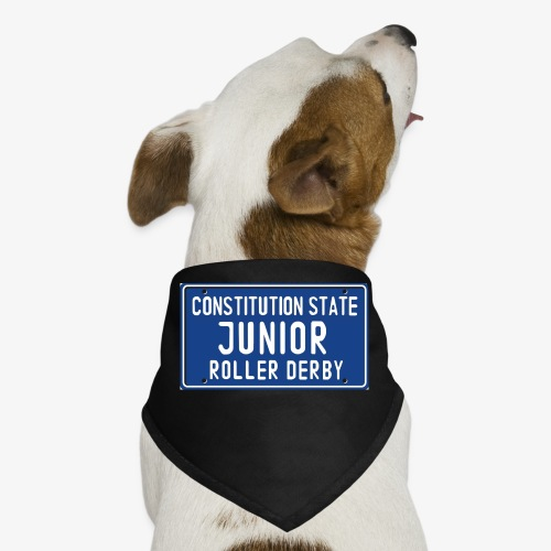 Constitution State Junior Roller Derby - Dog Bandana