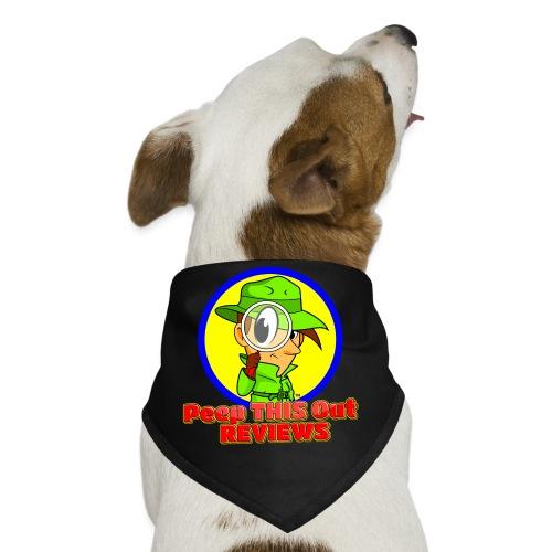 Peep THIS Out Half Logo - Dog Bandana