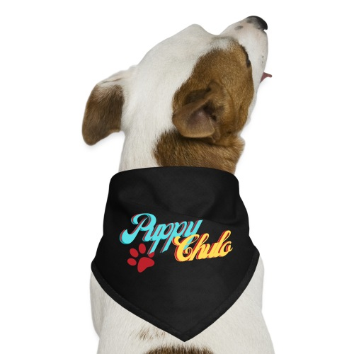'Puppy Chulo', Funny Spanish Pun - Dog Bandana