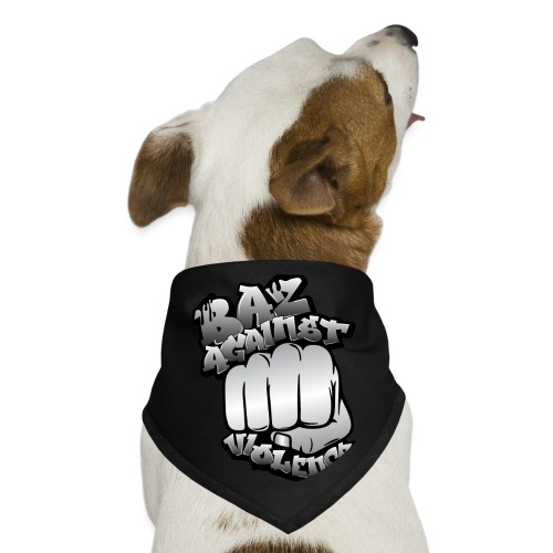 Baz Against Violence - Dog Bandana