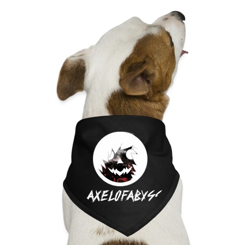 Axelofabyss Red with Nature - Dog Bandana
