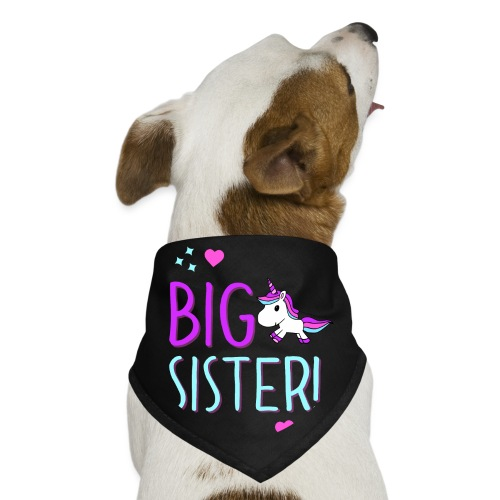 Big Sister Unicorn Design! - Dog Bandana