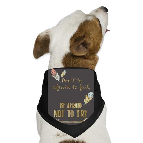 Follow dreams - Dog Bandana
