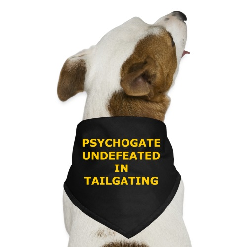Undefeated In Tailgating - Dog Bandana