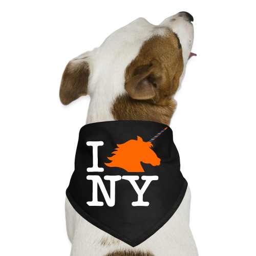 I Unicorn New York (Kristaps Porzingis) - Dog Bandana
