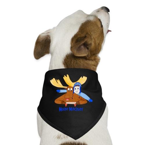 Moose Mischief - Dog Bandana