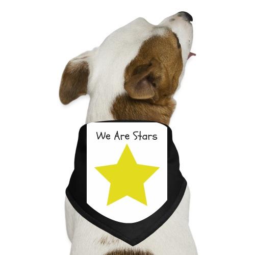 Hi I'm Ronald Seegers Collection-We Are Stars - Dog Bandana