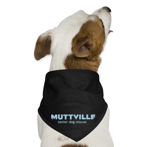 muttville wht - Dog Bandana