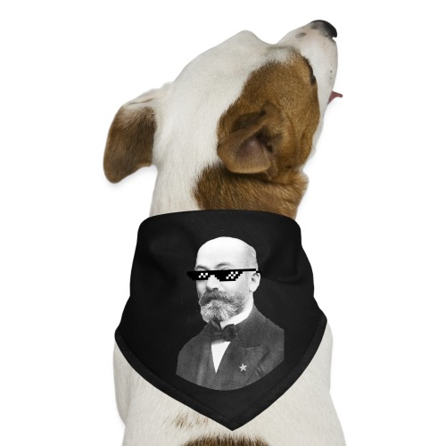 Zamenhof Shades (BW) - Dog Bandana