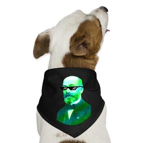 Green and Blue Zamenhof - Dog Bandana