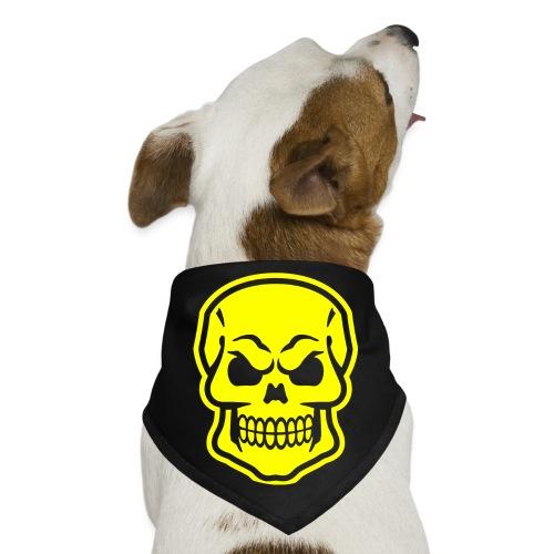 Skull vector yellow - Dog Bandana