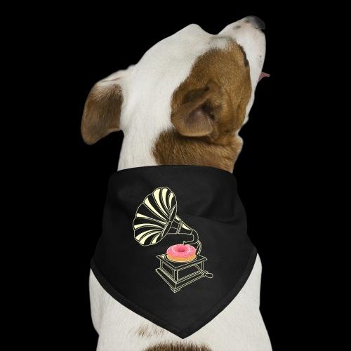 Donut Stop the Music | Sweet Gramophone - Dog Bandana