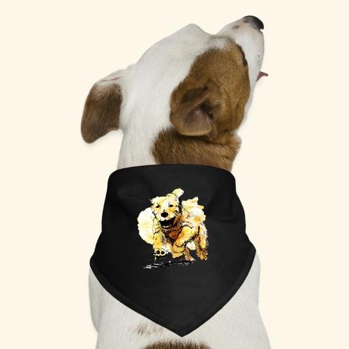 oil dog - Dog Bandana