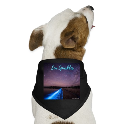 Tasmanian Sea Sparkles - Dog Bandana