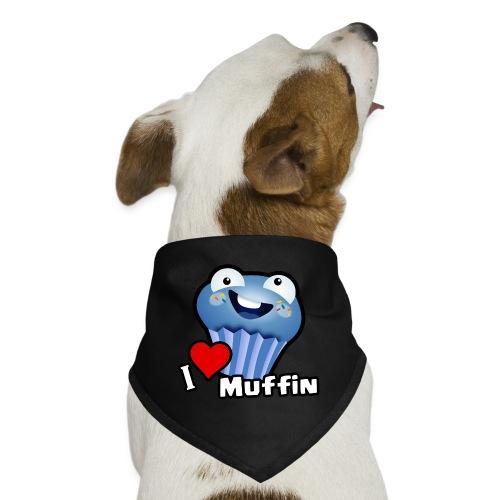 I Love Muffin - Dog Bandana