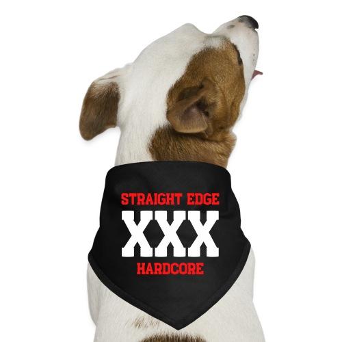 Straight Edge XXX Hardcore - Dog Bandana