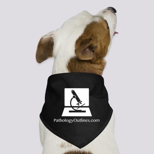 Pathology Outlines Square Logo - Dog Bandana