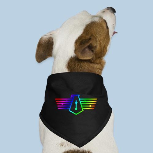 Westport Bird Rainbow on transparent - Dog Bandana